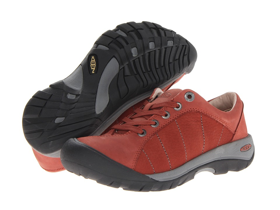 Keen - Presidio (Burnt Henna) Women's Lace up casual Shoes
