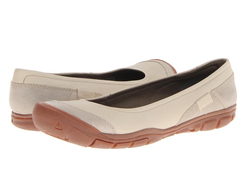 Keen - Rivington Ballerina CNX (Pumice Stone) Women's Slip on Shoes