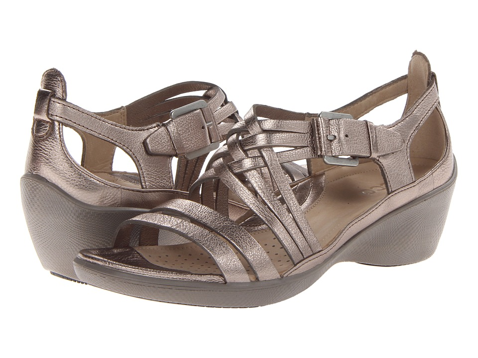 ECCO - Sculptured Sign Sandal (Warm Grey Metallic Lexi) Women