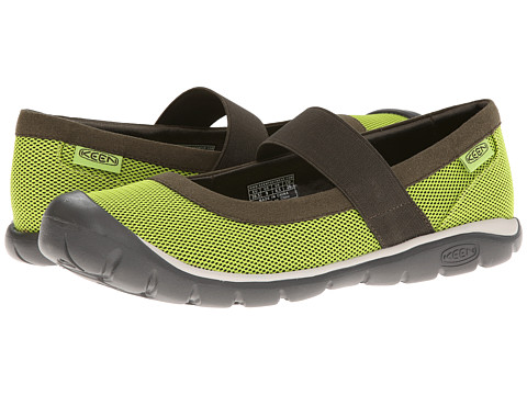 Keen - Kanga MJ (Lime Green/Forest Night) Women's Maryjane Shoes