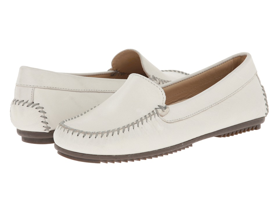 ECCO - Rivera (Ice White Leather) Women's Shoes