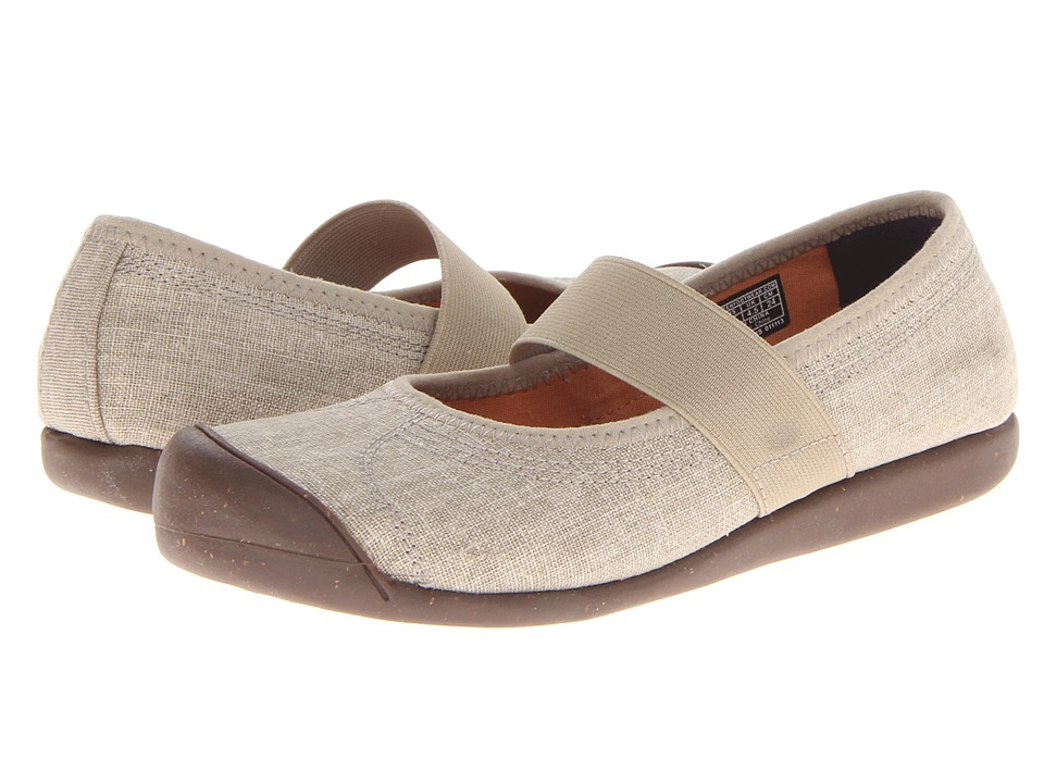 Keen - Sienna MJ Canvas (Aluminium) Women's Flat Shoes