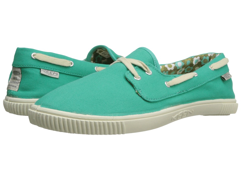 Keen - Maderas Boat (Pool Green) Women's Lace up casual Shoes