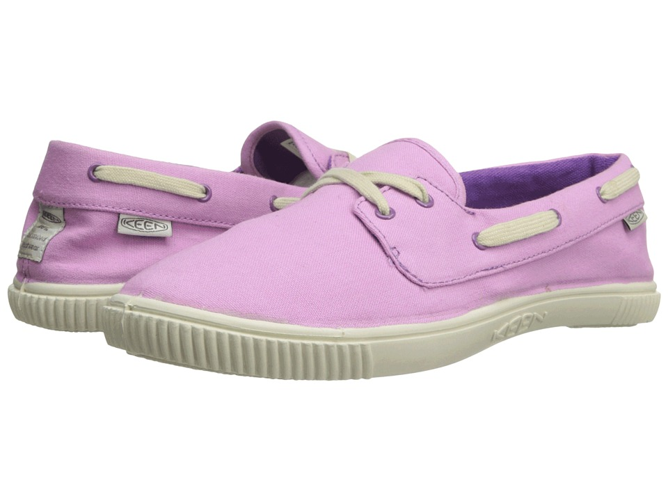 Keen - Maderas Boat (Lilac Chiffon) Women's Lace up casual Shoes