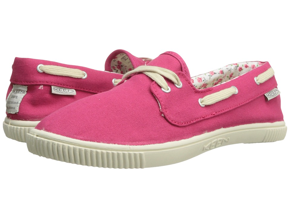 Keen - Maderas Boat (Rose Red) Women's Lace up casual Shoes