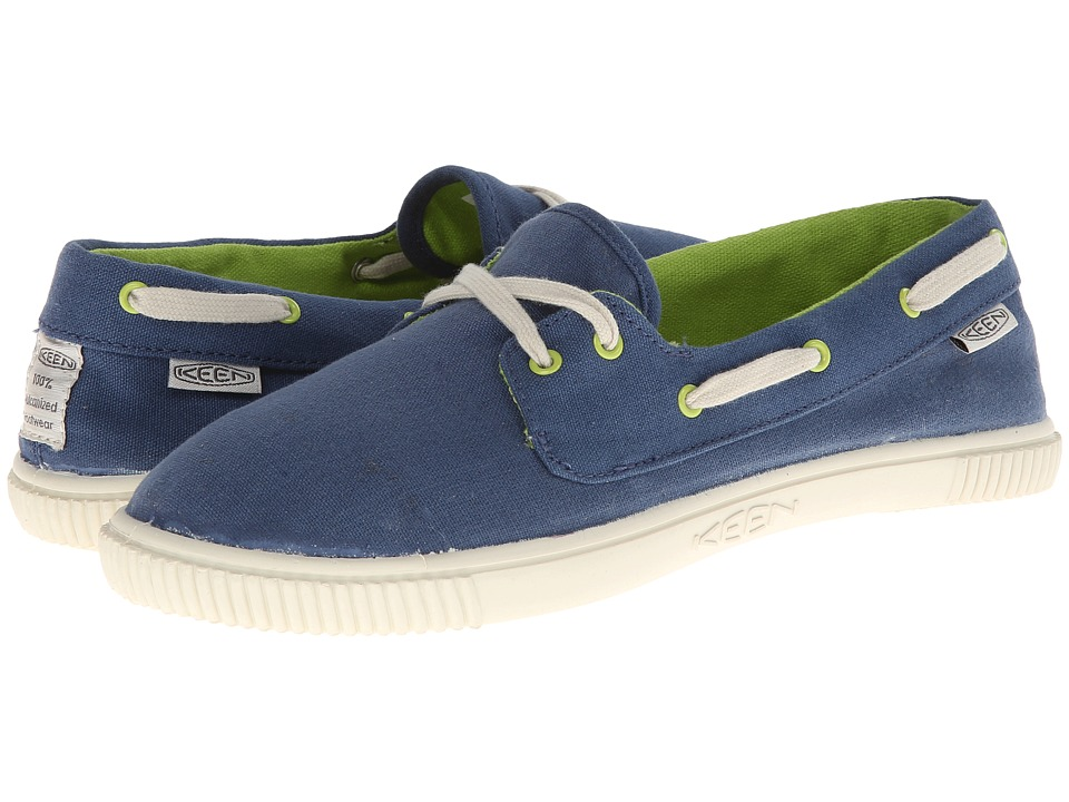 Keen - Maderas Boat (Ensign Blue) Women's Lace up casual Shoes