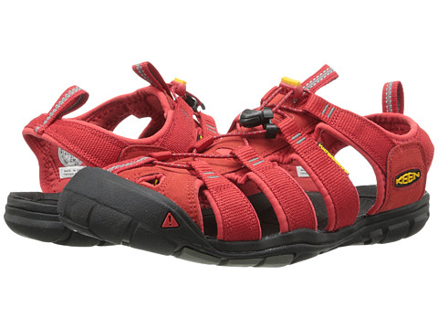 Keen - Clearwater CNX (Mars Red/Gargoyle) Men
