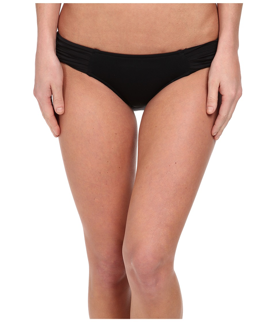 Seafolly - Pleated Hipster Pant (Black) Women's Swimwear