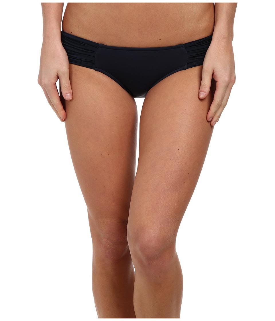 Seafolly Pleated Hipster Pant Indigo Womens Swimwear