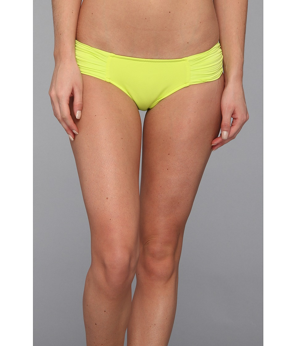 Seafolly - Pleated Hipster Pant (Chartreuse) Women's Swimwear