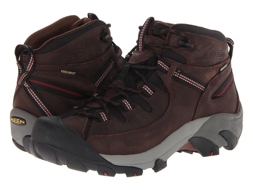 Keen - Targhee II Mid (Chestnut/Bossa Nova) Men's Waterproof Boots