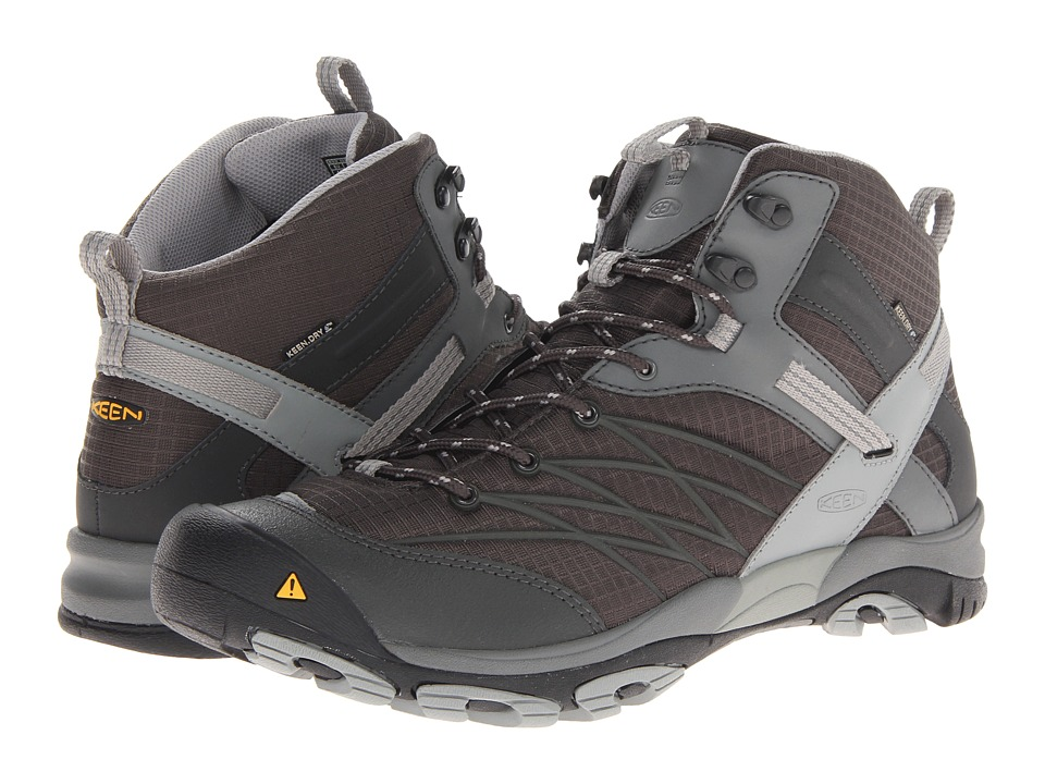 Keen - Marshall Mid WP (Raven/Neutral Gray) Men's Hiking Boots