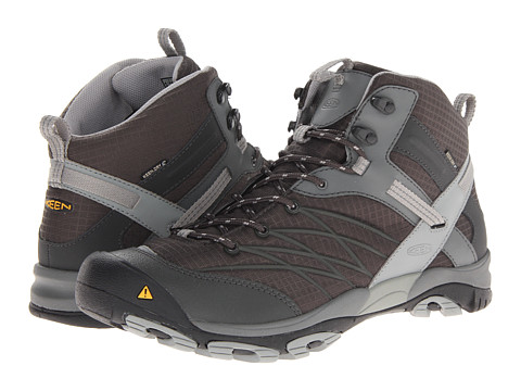 Keen - Marshall Mid WP (Raven/Neutral Gray) Men