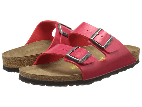 Birkenstock - Arizona Birko Flor (Tango Red Birko-Flor ) Women's Sandals