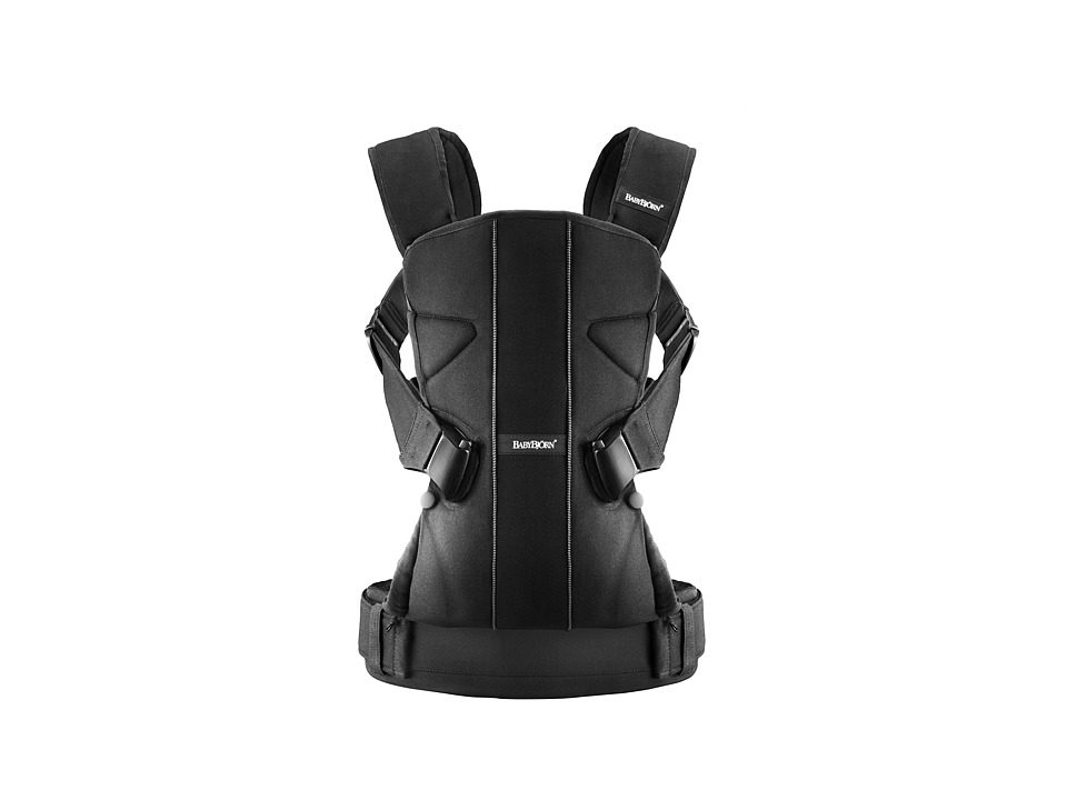 BabyBjorn - Baby Carrier ONE (Black) Carriers Travel