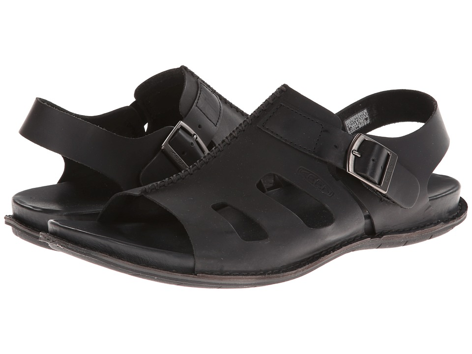 Keen - Alman Sandal (Black) Men's Sandals