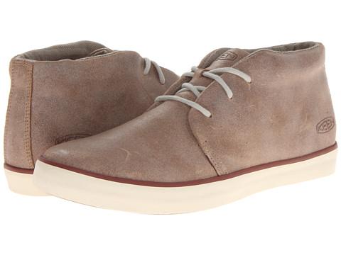 Keen - Santa Cruz Leather (Latte) Men's Lace up casual Shoes