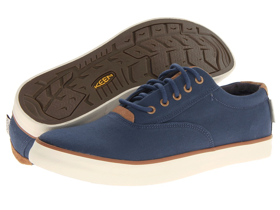Keen - Santa Cruz CVO (Ensign Blue) Men's Lace up casual Shoes