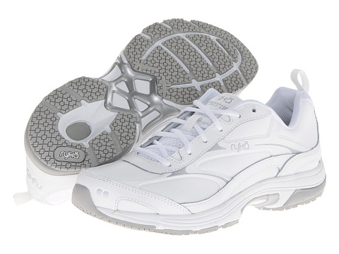 Ryka - Intent XT 2 SR (White/Chrome Silver) Women