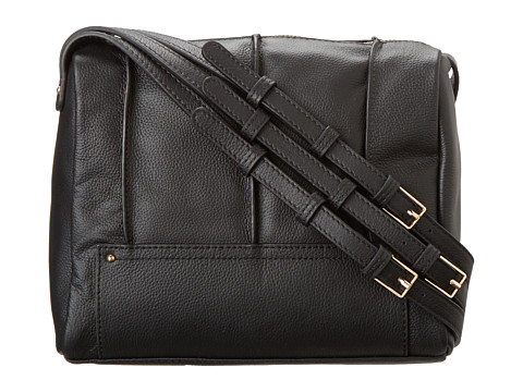 Kelsi Dagger Gowanus Crossbody (Black) Cross Body Handbags