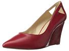 Nine West - Wayno (Red/Clear Leather) - Footwear