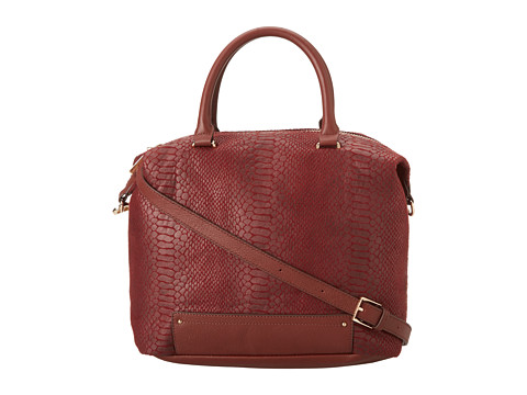 Kelsi Dagger Crown Heights Convertible Tote (Rust) Tote Handbags