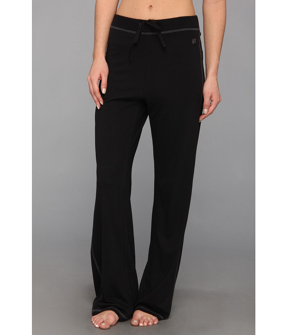 Kenneth Cole Reaction Fundament Long Pant Womens Pajama (Black)