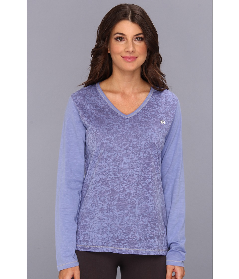 Kenneth Cole Reaction Revelation L/S Top Womens Pajama (Pewter)