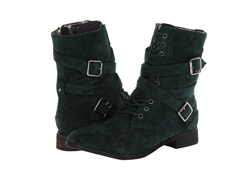C Label - Alanis-1B (Dark Green) Women's Shoes
