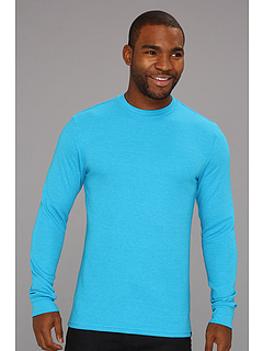 SALE! $9.99 - Save $15 on Hurley Staple L S Thermal (Heather Cyan) Apparel - 60.04% OFF $25.00