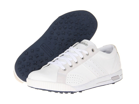 SKECHERS Performance - GO Golf - Drive (White) Men's Lace up casual Shoes