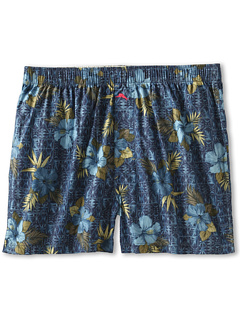 SALE! $9.99 - Save $10 on Tommy Bahama Waikiki Woodcut Boxer (Blue) Apparel - 48.77% OFF $19.50