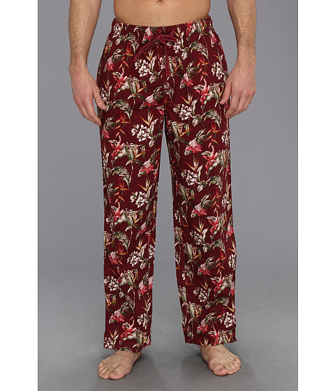 Tommy Bahama - Birds Of Paradise Pant (Cardinal) Men's Pajama