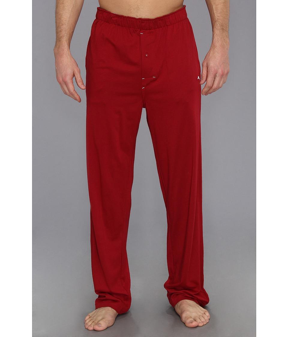 Tommy Bahama - Cotton Modal Jersey Pant (Cardinal) Men