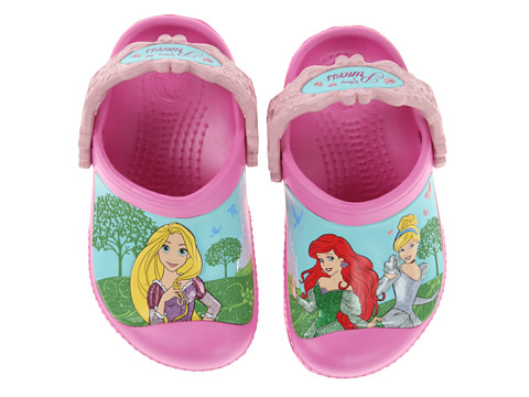 Crocs Kids - Magical Day Princess Clog (Toddler/Little Kid) (Party Pink/Petal Pink) Girl's Shoes
