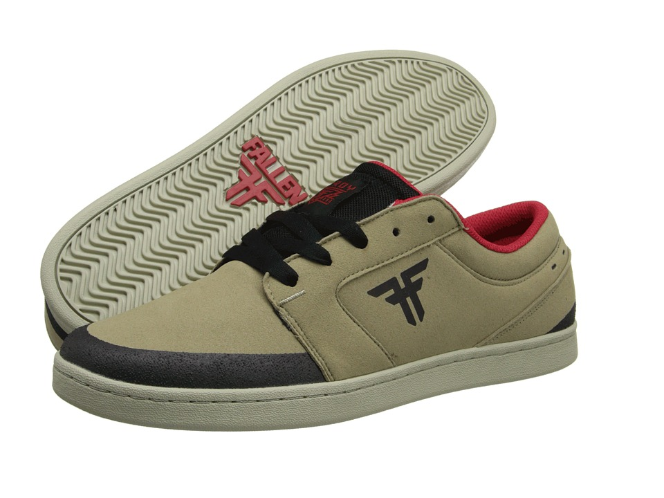 Fallen - Torch (Khaki/Black) Men's Skate Shoes