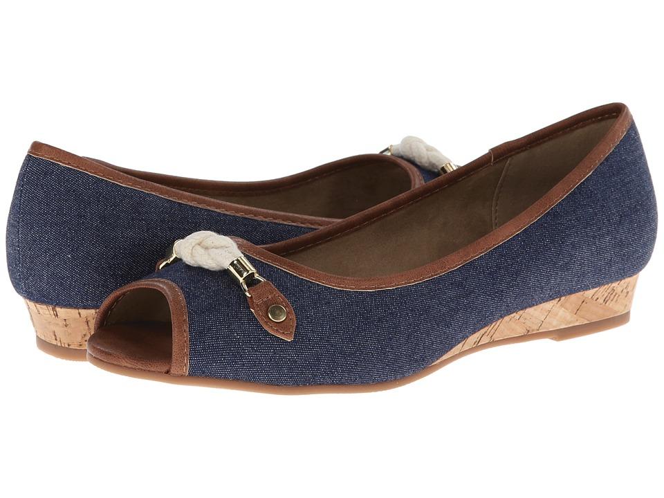Bella-Vita - Estelle (Denim) Women's Wedge Shoes