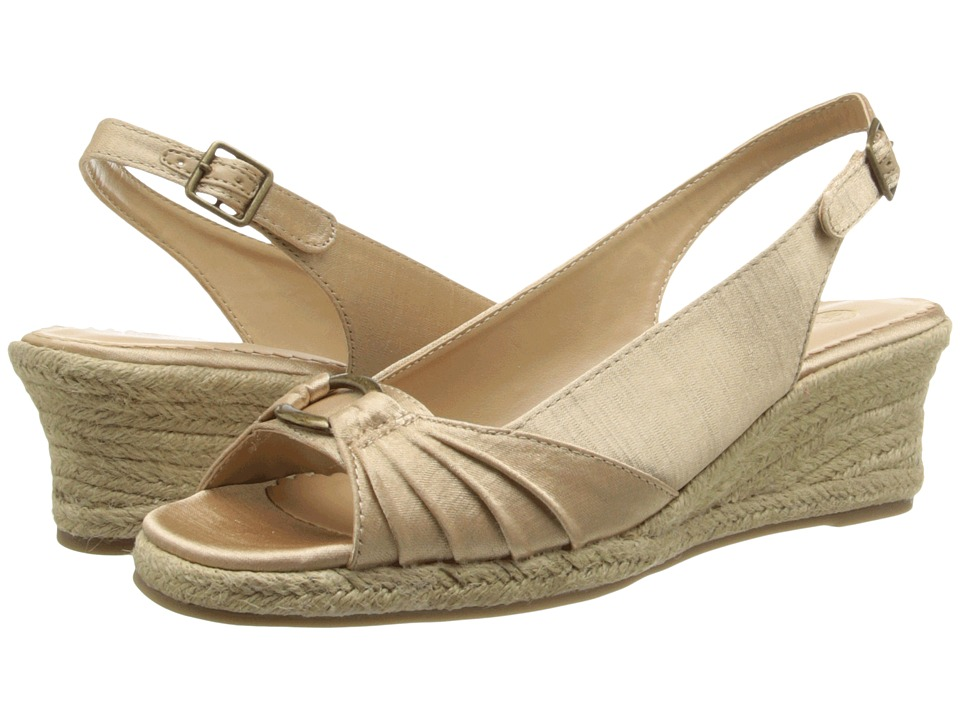 Bella-Vita - Sharon (Natural) Women's Wedge Shoes