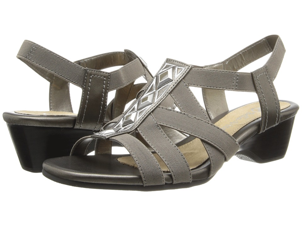 Bella-Vita - Pacifica (Pewter) Women's 1-2 inch heel Shoes