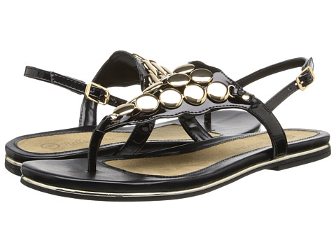 Bella-Vita - Skylar (Black Patent) Women's Sandals