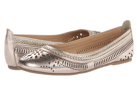 Bella-Vita Taliah (Champagne) Women's Dress Flat Shoes