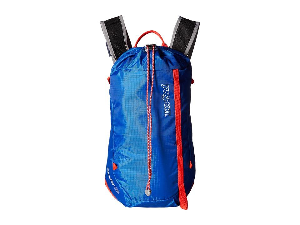 JanSport - Sinder 15 (Blue Streak) Backpack Bags