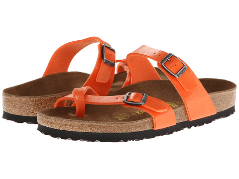 birkenstock mayari orange