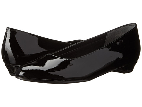 Rose Petals - Butter-2 (Black Soft Patent) Women