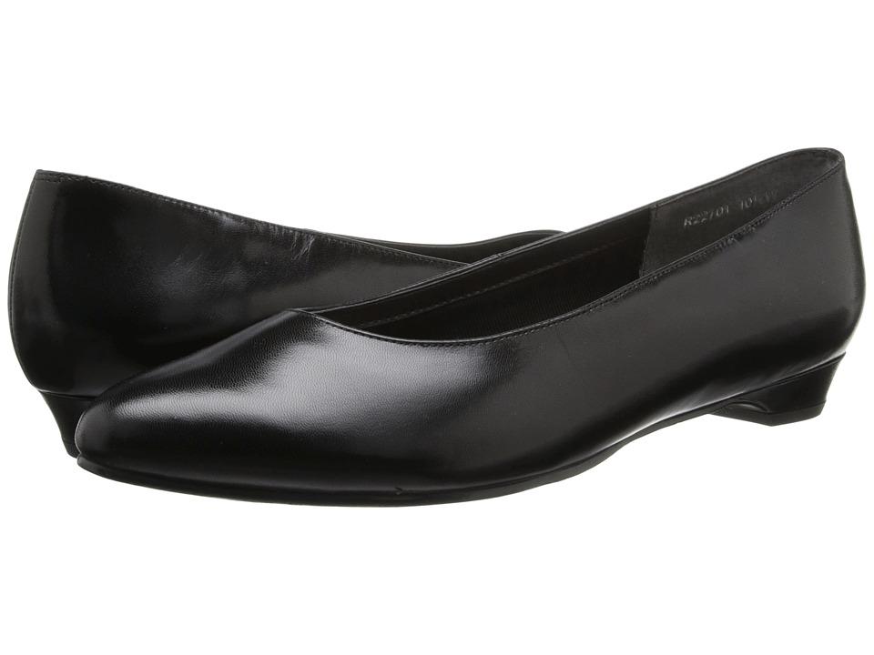Rose Petals - Butter-2 (Black Kid) Women's Shoes
