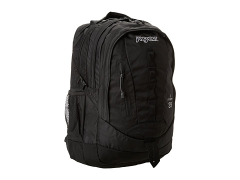 JanSport Odyssey (Black S14) Backpack Bags