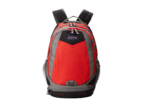 JanSport Boost (High Risk Red) Backpack Bags