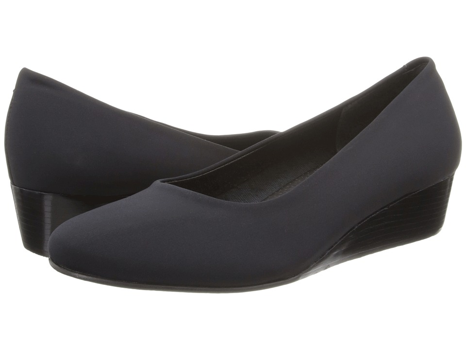 Rose Petals - Mandy (Black Micro) Women's Shoes