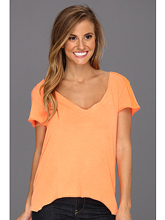 SALE! $14.99 - Save $12 on Fox Peel Out Top (Day Glow Orange) Apparel - 43.43% OFF $26.50