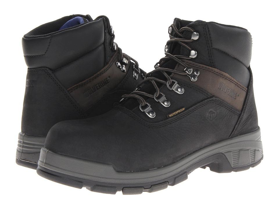 Wolverine Cabor EPXtm PC Dry Waterproof 6 Boot Composite Toe (Black) Men